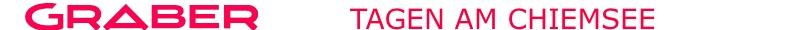 Tagungs- und Seminarraum mieten am Chiemsee Logo